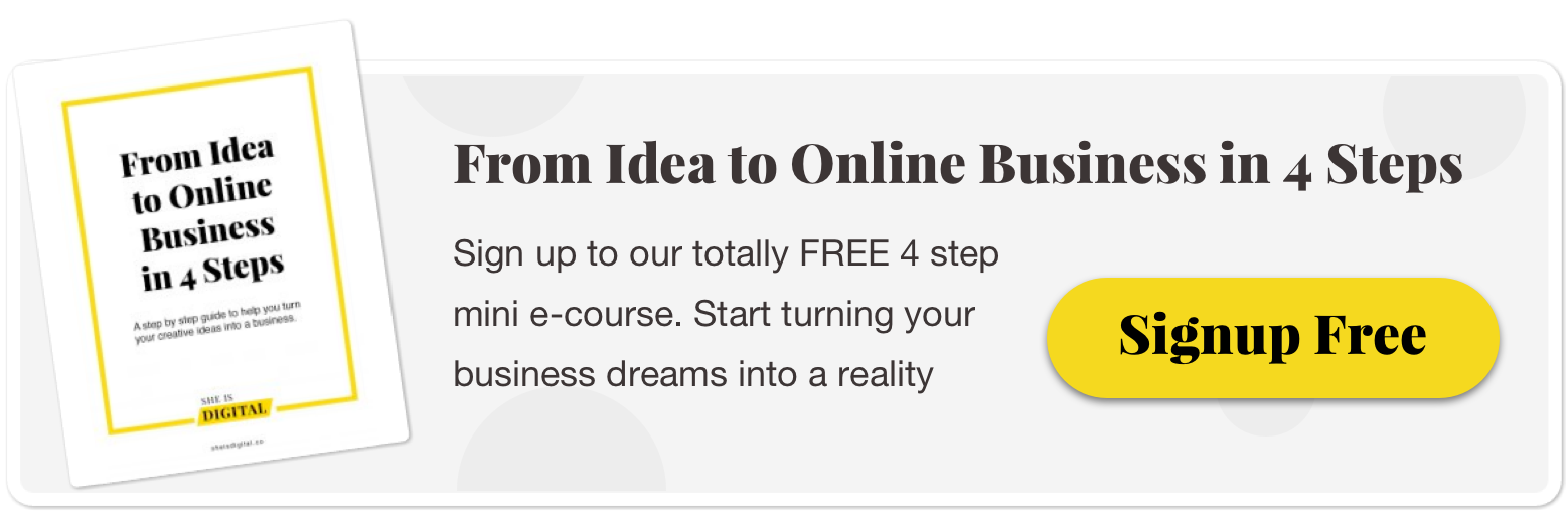 From idea to business in 4 steps