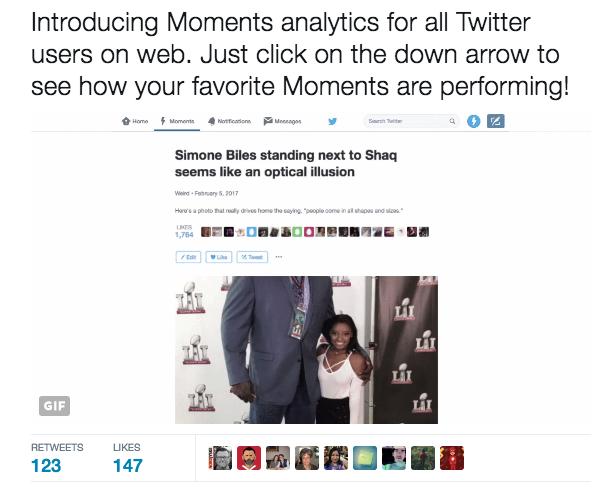 twitter moments analytics